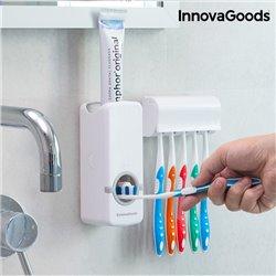 Distributeur de Dentifrice avec Porte Brosse à Dents InnovaGoods