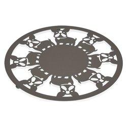Sottopentola Metallo (22 x 1 x 22 cm) Cane