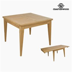 Asuziehbarer Tisch Mindiholz (100 x 100 x 78 cm) by Craftenwood