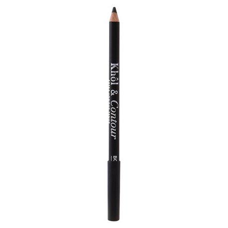 """Lápis de Olhos Khôl&contour Bourjois """"002 - Ultra Black - 1,2 g"""""""