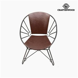 Fauteuil Cuir synthétique (73 x 64 x 88 cm) by Craftenwood