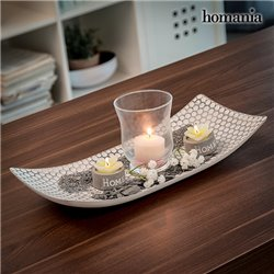 Centre de Table avec Bougeoirs Harmony Homania