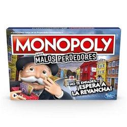 Gioco da Tavolo Monopoly Malos Perdedores Hasbro (ES)