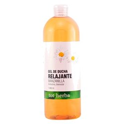 "Relaxing chamomile shower gel Tot Herba ""1000 ml"""