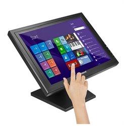 "Monitor con Touch Screen iggual MTL15B 15"" LCD XGA USB Nero"