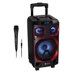Altoparlante Bluetooth Portatile NGS WILDSKAZERO 120W Nero/Rosso