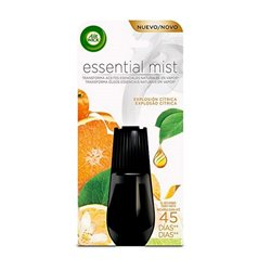 Air Wick Essential Mist (Citrus Burst) Air Freshener Refills x3