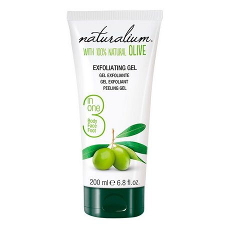 Exfoliante Facial Olive Naturalium (200 ml)