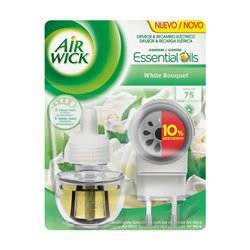 Diffiseur Electrique et Recharge Air Wick White Bouquet
