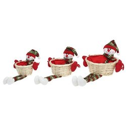 Lot de paniers Christmas Planet 8123 (3 pcs)