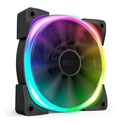 Ventola da Case Gaming NZXT HF-28140-B1 Ø 14 cm 1500 rpm LED RGB Nero