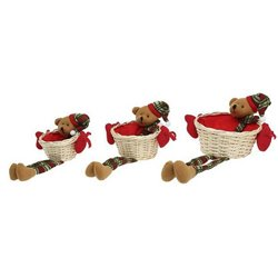 Lot de paniers Christmas Planet 8147 (3 pcs)