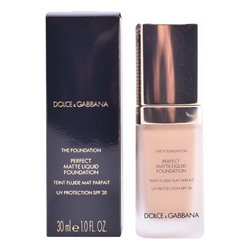 "Fondo de Maquillaje Fluido The Foundation Dolce & Gabbana Spf 20 ""80 - Creamy - 30 ml"""