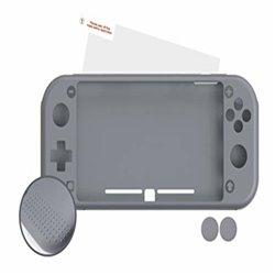 Custodia Protettrice Nuwa Nintendo Switch Lite Silicone Grigio