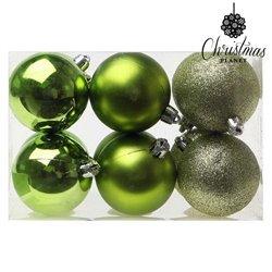 Bolas de Navidad Christmas Planet 8213 6 cm (12 uds) Verde