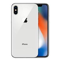 "Smartphone Apple iPhone X 5,8"" Octa Core 3 GB RAM NFC (Ricondizionato) Argentato 64 GB"
