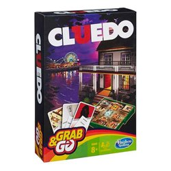 Gioco da Tavolo Cluedo Grab&Go Hasbro (ES)