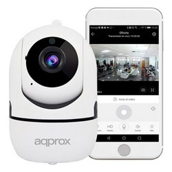 Fotocamera IP approx! APPIP360HDPRO 1080 px Bianco