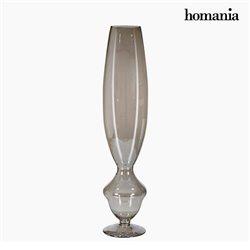 Jarrón (20 x 20 x 90 cm) - Colección Pure Crystal Deco by Homania
