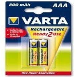 Batterie Ricaricabili Varta 220837 1,2 V 800 mAh AAA
