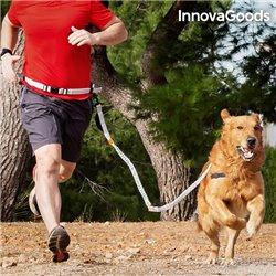 Trela para Cães Mãos Livres InnovaGoods