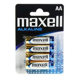 Batterie Alcaline Maxell 1.5V AA PK4 AA 1,5 V