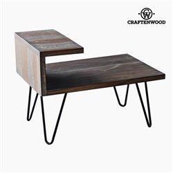 Table de Nuit Bois de manguier (40 x 40 x 45 cm) by Craftenwood