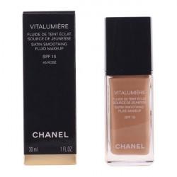 """Base de maquillage liquide Vitalumière Chanel """"45 - rose 30 ml"""""""