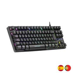 Tastiera per Giochi Mars Gaming MKTKL Nero Selezionare la sua opzione -Spagnolo