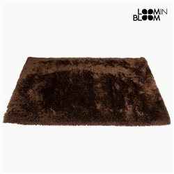 Carpet (170 x 240 x 8 cm) Polyester Silk Brown