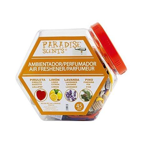 Deodorante per la Macchina Paradise Scents Riattaccare (48 uds)