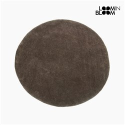 Tapis Acrylique Marron (90 x 90 x 3 cm) by Loom In Bloom