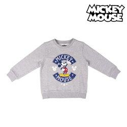 Felpa senza Cappuccio Uomo Mickey Mouse Grigio L