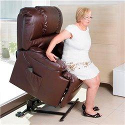 Poltrona Relax Alzapersona con Massaggio Cecotec 6014