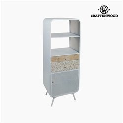Shelves Fir wood (2 shelves) (3 drawers) (51 x 40 x 135 cm) by Craftenwood