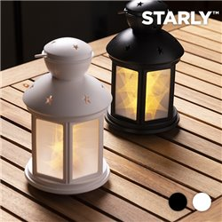 Farolillo LED Starly Negro