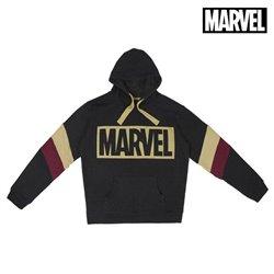 Felpa con Cappuccio Uomo Marvel XXL