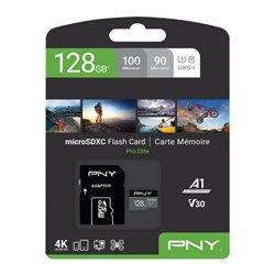 Scheda Di Memoria Micro SD con Adattatore PNY Pro Elite C10 256 GB