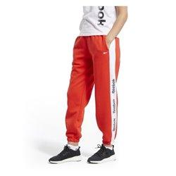 Pantalone di Tuta per Adulti Reebok Linear Logo FL Donna Rosso S