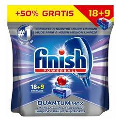 Tablettes pour Lave-Vaisselle Finish Quantum Regular (27 Doses)