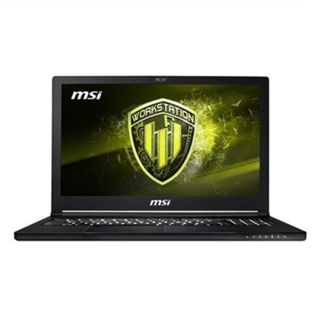 """Notebook MSI 9S7-16K722-013 15,6"""" 4K i7-8850H 32 GB RAM 512 GB SSD + 1 TB HHD"""