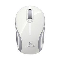 Mouse senza Fili Logitech M187 Bianco Grigio