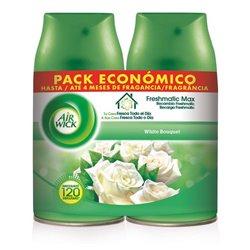Air Wick FreshMatic Duopack Nachfüller White Bouquet 2 x 250 ml