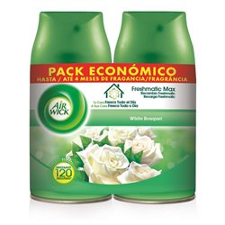 Recarga para ambientador Air Wick FreshMatic Duplo White Bouquet 2 x 250 ml