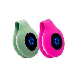 Elettrostimolatore iWatMotion Reflyx Zen Silicone Verde Rosa (2 uds)