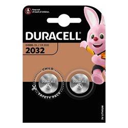 Batteria a Bottone a Litio DURACELL DRB20322 (2 uds)
