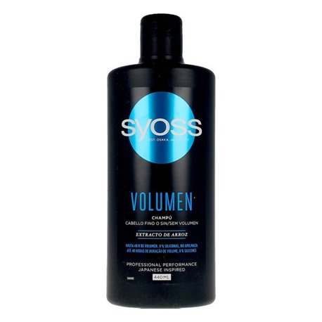 Shampoo Volumen Syoss (440 ml)
