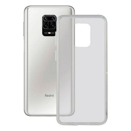 Custodia per Cellulare Xiaomi Redmi Note 9 Pro KSIX Flex TPU