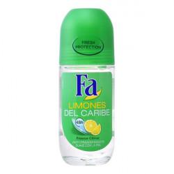 Desodorizante Roll-On Limões do Caribe Fa (50 ml)