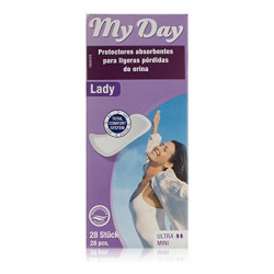 Incontinence Sanitary Pad My Day My Day (28 uds)